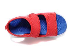 Wholesale Black Lace Up Slipper Shoes - kids shoes free shopping 2017 brand Summer Children's Sandals Slip-resistant Wear-resistant sport Sandal boys shoe Sneakers Slippers