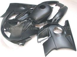 Wholesale 1994 Honda Fairing Body Kit - All black fairings+tank for honda CBR600 F2 1991 1992 1993 1994 CBR600F2 91 92 93 94 fairing body kit #f83u4 windscreen