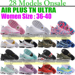 Wholesale Green Tune - 2017 new AIR TN Women's Running Trainers Shoes high quality Plus SE TN Tuned Quilted women running shoes Plus GS Tn ladies Trainer