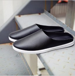 Wholesale Casual Rubber Slipper For Men - Breathable hemp slipper men beach moccasins shoes Casual summer shoes for man Slip-on Loafers flat half sandals