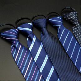 Wholesale Wholesale Slim Ties - New Slim Necktie Tie Party Wedding Classic Jacquard Woven Plain Skinny Silk Neckties For Men Gift