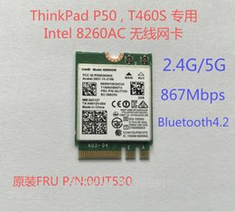Wholesale Wlan Card Bluetooth - Wholesale- New For ThinkPad P50 T460S Intel Wireless-AC 8260 8260NGW 2x2 WI-FI 802.11ac 867Mbps WiFi Bluetooth 4.2 Wlan Card FRU 00JT530