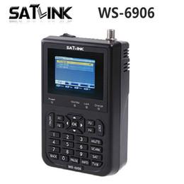 """Wholesale Dvb Meter - Satlink WS-6906 3.5"""" DVB-S FTA Digital Satellite Meter Satellite Finder WS 6906 Satlink WS6906 0804017"""