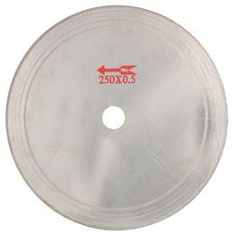 "Wholesale Saving Blades - 10"" inch Super-Thin Rim 0.65mm Diamond Saw Blade Cutting Disc Lapidary Tools Arbor Hole 25mm Saving Material Jewelry Gemstone"