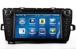 Wholesale Dvd For Toyota Land Cruiser - Car DVD Player for Toyota Prius Right Side Drive 2009 2010 2011 2012 2012 2013 with GPS Navigation Radio BT USB AUX MP3