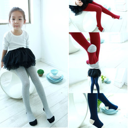 Wholesale Children Dance Bottom - Autumn Spring Baby Girls Pantyhose Ballet Dance Clothes Girl Underpants With Sock Cotton Children Pantynose Bottom Leggings Soft Tights