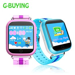 Wholesale baby trackers - GPS smart watch Q750 Q100 baby kid smart watch with Wifi 1.54inch touch screen SOS Call Location Device Tracker for Kid Safe PKQ50 Q80 Q90