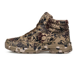 Wholesale Cotton Road Shoes - MAN Sports Non-slip warm cotton shoes Male 3547 off-road mountain camouflage cotton shoes Canvas with thick cotton shoes