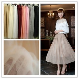 Wholesale Cheap Adult Women Tutus - Real Picture summer skirt White Tulle Tutu Skirts For Adults Custom Made A-Line Cheap Party Prom Dresses Women Clothing Tulle Skirts