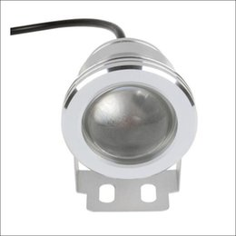 Wholesale 12v Underwater Led Spotlights - LED underwater light 10W RGB spotlight DC AC 12V 24 key IR remote controller waterr proof IP68