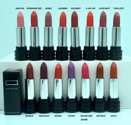 Wholesale Special offer High quality HOT Makeup Matte Lipstick Rouge Lipstick g oz Color DHL GIFT