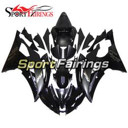 Matte Black Gloss Vollverkleidungen Fur Yamaha YZF600 R6 08 09 10 11 12 13 15 2008 2015 Sportbike ABS Motorrad Verkleidungssatz Karosserie NEU