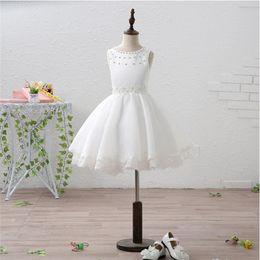 Wholesale Easter Shirt For Child - 2017 Short Flower Girl Dresses for Wedding Lovely Little Girl Kid Child Dress New Sweet Princess Party Pageant Communion Dress