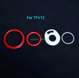 Wholesale Seals Baby - SMOK TFV8 Big Baby Silicone O Sealing Rings for Smok Cloud Beast TFV8 baby Tank TFV8 Baby TFV12 Tank