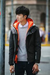Wholesale Thick Mens Coats - Outside Coat napapijri down jacket Short coat for men Short thickening Mens winter coats hooded clothes 5 colors for 2015 hot sale