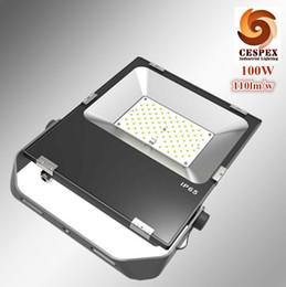 Ligas de alumínio fundido on-line-Projeto da patente de alta performance de transmissão de calor ultra-fino liga de alumínio fundido AC110v 220 v IP65 100 W LED luz de inundação