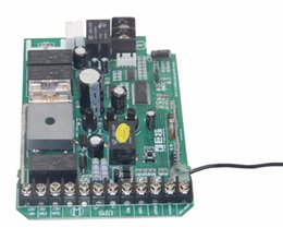 Wholesale Power Dc Motor - Wholesale- circuit board card for automatic sliding gate opener motor DC 24V power