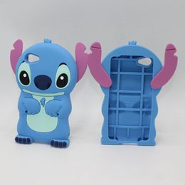 Wholesale Cute Stitch Iphone Case - Cute Cartoon Lilo Stitch 3D Soft Silicone Case Back Cover For Sony Xperia X XA E4 E5 Z5 M2 M4 Aqua For Sony Z3 Z5 Compact Z1 Compact mini