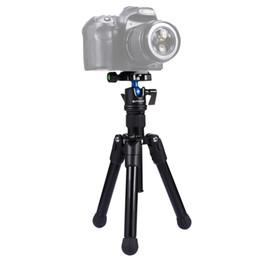 Wholesale Mini Ball Head For Dslr - PULUZ Mini Tripod DSLR Pocket Microspur Photos Tripode Camera Professional Mount with 1 4 360 Degree Ball Head For Sony Nikon