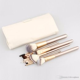 Wholesale Makeup Brushes 18 Pcs - Makeup Brushing Brush Set 12 18 pcs Soft Synthetic Professional Cosmetic Makeup Foundation Powder Blush Eyeliner Brushes free shipping