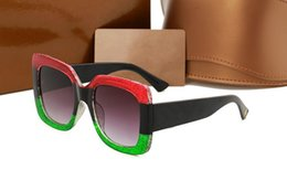 Wholesale cats summer - 0083 Brand Designer 0083S Square Summer Style Women Sunglasses Ladies Full Frame Sunglasses UV Protection Fahion Mixed Color Come With Box