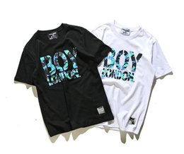 Wholesale New Boy London - BIGBANG GD BOY LONDON pentagram Printed Mens camouflage T-Shirt For Men New Short Sleeve O Neck Cotton Casual Top Tee