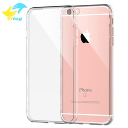 Wholesale Transparent Silicone Note Case - For Iphone 7 S8 S8 plus Samsung S7 Iphone 6s Crystal Gel Case for iPhone 6s Plus Ultra-Thin transparent Soft TPU Cases Note 5 Clear Cases