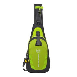 Wholesale Outdoor Lighted Cross - Waterproof Outdoor Sports Travel Cross Body Single Shoulder Bag Chest Pack Light Weight Color Assorted