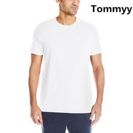 Wholesale Funny Tshirts Men - Top quality Brand LOGO printing T-shirts Men Funny Cotton Short Sleeve O-neck Tshirts Fashion Summer Style Fitness Brand luxury T shirts