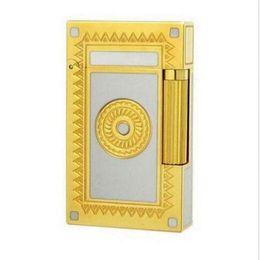 Wholesale Flower Memorial - Gold-Sun-Flower-Memorial-Bright-Sound-Lighters-Vintage-Lighter