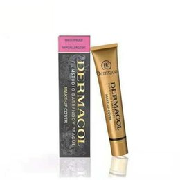 Wholesale Dc Color - Dermacol Make up Cover Primer DC Concealer Base Professional Face Dermacol Makeup Foundation Contour Palette Makeup Base