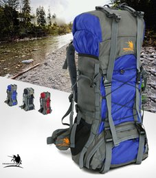 Wholesale Unique Yoga - Free Knight FK008 Outdoor Camping Bag 3 Color 60L Nylon Water Resistant Backpack Unique Camping Mountaineering Bag Free Shipping