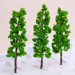 Wholesale Ho Landscaping Wholesalers - Wholesale- Model Pine Tree Train Set Scenery Landscape OO HO - 10PCS