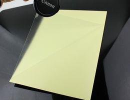 Wholesale Printer Vinyl - Wholesale- 2016 A5 Clear Transparent Self Adhesive Vinyl Film Label For Laser Printer 14.5 x 21cm