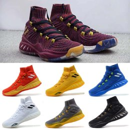 Wholesale Crazy Ups - 2017 new 3D men crazy explosive boost Basketball Shoes,fashion Sneakers Boost Beige,Men Sneaker Sportwear,MenS popular Sports Running Shoes