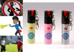 Wholesale Pink Perfume Bottles - Hot Sell NEW 3PCS Lot NATO CS-GAS JA defensive perfume sprayer Pepper spray defender of Women Men Security 20ML Free Ship Best Price