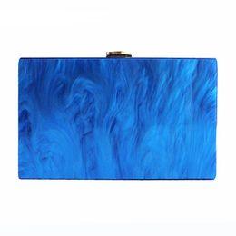 Wholesale Handbags Street Style - New Wallet 2017 Women messenger bag brand fashion party handbag puring pearl luxury acrylic shoulder bag lady handbags Street prom Clutch
