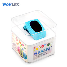 Wholesale Monitor Positioning - Wholesale- Wonlex 2016 New Smart Kids GPS Watch with GPS GSM Wifi Triple Positioning Monitoring Dual-way Call SOS Alarm Watch