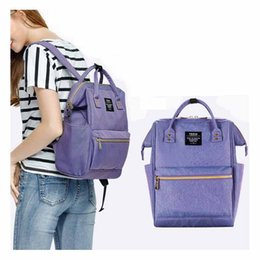 Wholesale Korean Multi Backpack - Mommy Bag Korean Women Diaper Bags Sup Backpack Organizer Baby Products Maternity Nappies Bags Outdoor Travel Bag