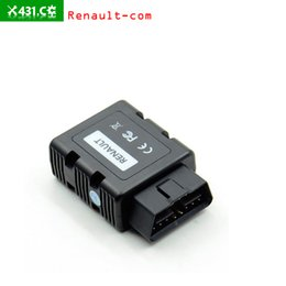 Wholesale Clip Obd - 30pcs lot Free shipping with Newest Renault-COM OBD Bluetooth Diagnostic and Programming Tool for Renault Replacement of Renault Can Clip