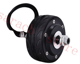 "Wholesale Electric Wheels Kit - 4"" 150W 24V electric wheel hub motor 2 wheel electric scooter motor electric sakteboard conversion kit"