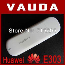 Оптово-оригинальный разблокированный Huawei E303 USB модем Бесплатная доставка cheap free unlock huawei от Поставщики бесплатно разблокировать huawei