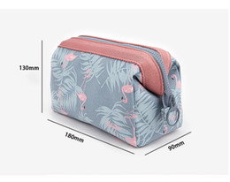Wholesale Hanging Floral Wholesale - 2017 multi-functional Storage bag Lady MakeUp Pouch Waterproof Cosmetic Make Up Bag Clutch Hanging Toiletries Travel Organizer Casual Purse