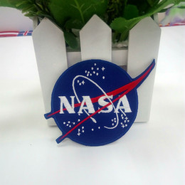 Wholesale System Clothes - NASA EMBROIDERED PATCH ROUND SOLAR SYSTEM SPACE PROGRAM ASTRONAUT SPACESHIP DIY