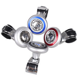 Wholesale Auto Steering Wheel Spinner - 1PCS Car Steering Wheel Power Handle Ball Grip Spinner Silver Strengthener Auto Spinner Knob Ball High Quality Steering Wheels