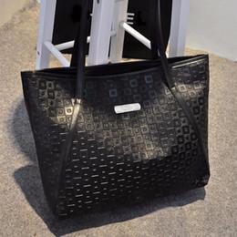 a755f683905a Wholesale-Women PU Leather Clutch Shoulder Bags Luxury Lady Elegant Shoulder  Handbag Fashion Cool Shopping Big Tote Bag
