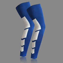 Wholesale Dance Pad For Pc - Wholesale- Men Women 1 Pcs Knee Support Brace Elasticated Bandage Leg Sleeve Wicking Knee Pads For Basketball Football Tennis Dancing Climb