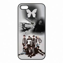 Canada Bangtan Boys BTS Monster Rap Téléphone Coques Coques cas en plastique dur pour iPhone 4 4S 5 5S SE 5C 6 6S 7 Plus ipod touch 4 5 6 Offre