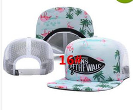 Wholesale Camouflage Ball Caps - 2017 New style Mesh Camouflage Baseball Cap Women Hip Hop Fashion gorras Van cap Bone Snapback Hats for Men Casquette Trucker dad Hat