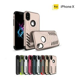 Wholesale Bat Case Iphone - Iphone X Mobile Phone Shell Bat God of God Mobile Phone Protective Cover TPU + PC Two-in-one Anti-drop Armor